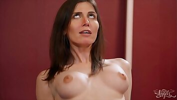 Horny Sexy (Korra Del Rio) Gets A Dick In Her Mouth Ass During The Training - TransAngels